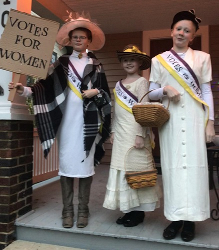 Suffragettes - Votes for Women!