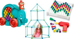 Building Her Dreams: 60 Building Toys for Mighty Girls