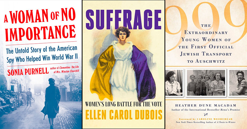 70 New Biographies for Adult Readers for Women's History Month