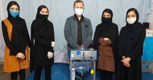 The Afghan Girls' Robotics Team Designed an Inexpensive Ventilator Out of Car Parts to Help With the Pandemic Fight