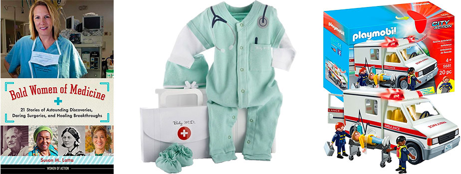 Pretend Toys African American Doll Medical Care Station New Baby Doctor Playset