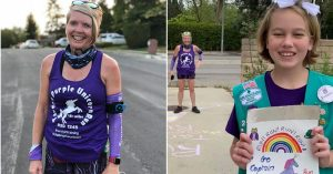 Girl Scout Leader Runs 46 Miles to Visit All 52 of Her Scouts Sheltering at Home Due to Coronavirus