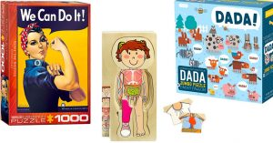 Putting It All Together: 50 Mighty Girl Puzzles for Kids & Adults