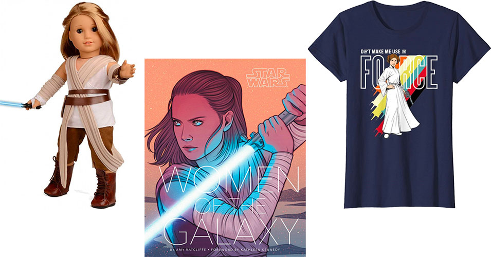 The Force Is With Her: Books, Toys, and Clothing For Star Wars Day