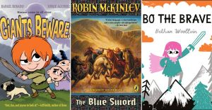 Mighty Girls To The Rescue: 22 Books Starring Sword-Wielding Girls and Women