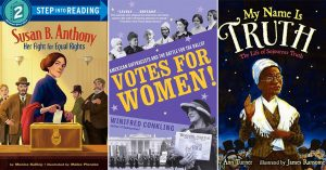 How Women Won The Vote: Books for Kids & Adults About the U.S. Suffrage Movement