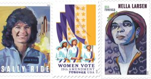 U.S. Postal Service Stamps Celebrating Mighty Women in History