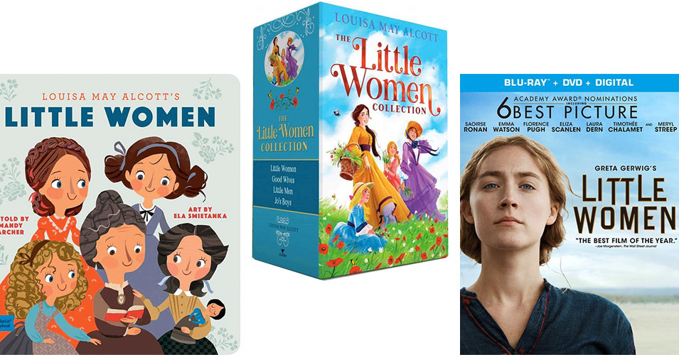 """152 Years of """"Little Women"""" in Books, Films, and More"""