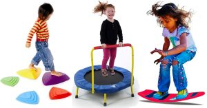 On The Move All Year Round: 50 Toys and Games for Indoor Active Play