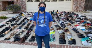 17-Year-Old Mighty Girl Collects and Donates 30,000 Pairs of Shoes to Help the Homeless