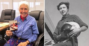 82-Year-Old Wally Funk Finally Travels to Space, 60 Years After NASA Denied Her Because of Her Sex